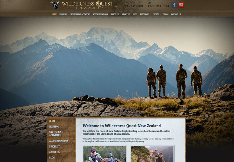 Wilderness Quest NZ